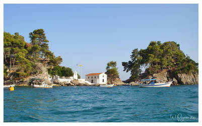 The Island of Panagia by Pajunen