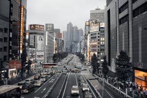 Tokyo City Life by Pajunen