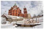 Uspenski Cathedral by Pajunen