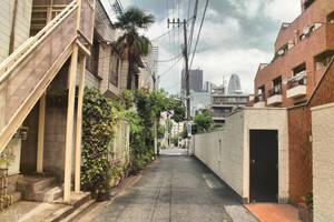 Tokyo Side Alley by Pajunen