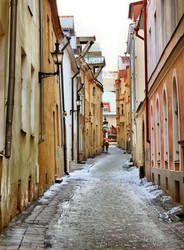 Tallinn Streets by Pajunen