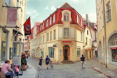 A summer day in Tallinn by Pajunen