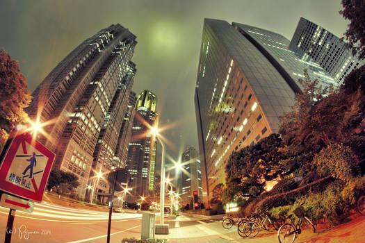 Shinjuku Tokyo by Pajunen