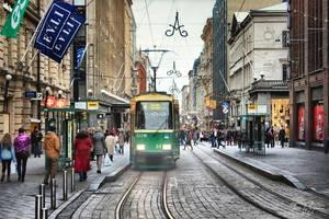 Helsinki Streets by Pajunen