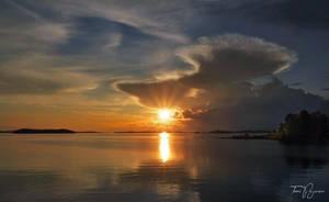 Summer Sunset by Pajunen