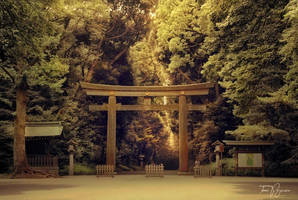 Shinto Gate by Pajunen