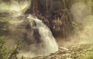 Krimml Waterfalls by Pajunen