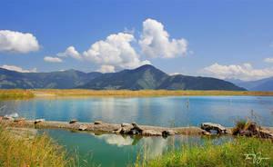 Mountain Lake by Pajunen
