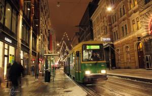 Tram Line 2 Helsinki by Pajunen