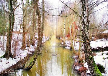 March Stream by Pajunen