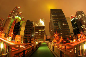 Tokyo Night Walk by Pajunen