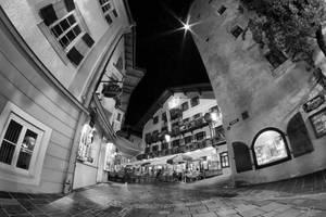 Night in Zell Am See by Pajunen