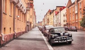 Vintage Car by Pajunen
