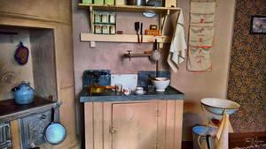 1920's Kitchen by Pajunen
