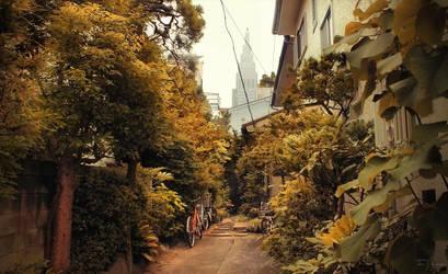 Tokyo Neighbourhoods by Pajunen