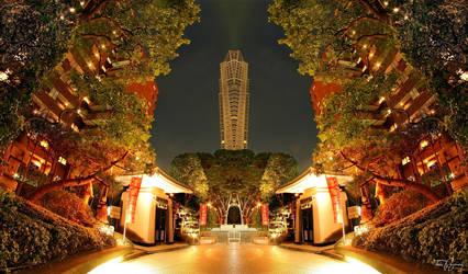 Mirror City II by Pajunen