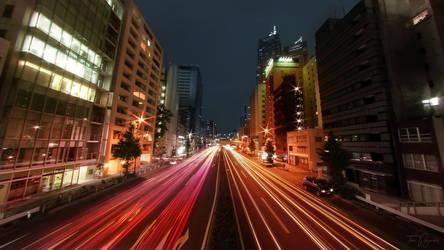 City Nights by Pajunen