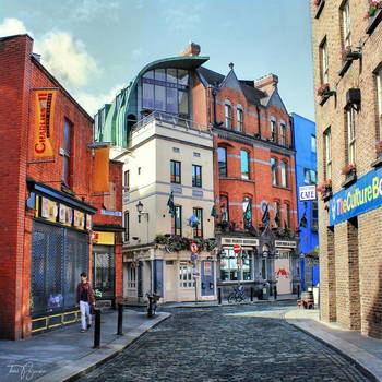 Dublin streets by Pajunen