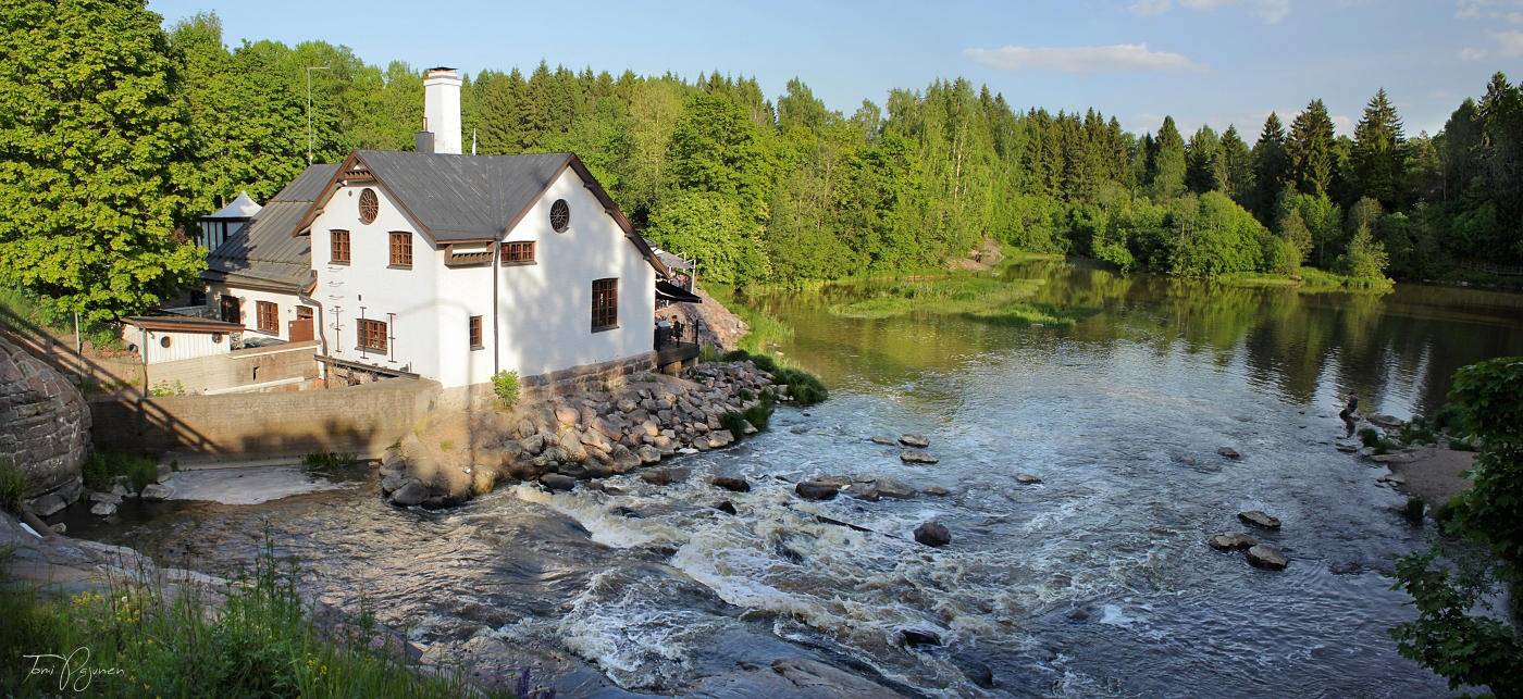 Old File Factory in Summer by Pajunen