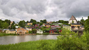 Old Porvoo by Pajunen