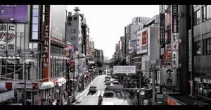 Shin-Okubo Korean Town Tokyo by Pajunen