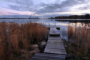 October Evening by Pajunen
