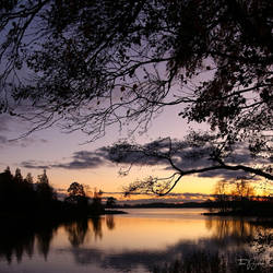 October Sunset by Pajunen