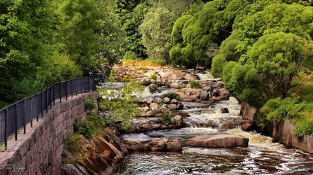 Old Town Rapids by Pajunen