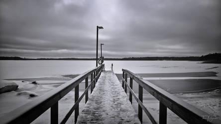 Winter Swimming by Pajunen