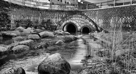 Urban Creek by Pajunen