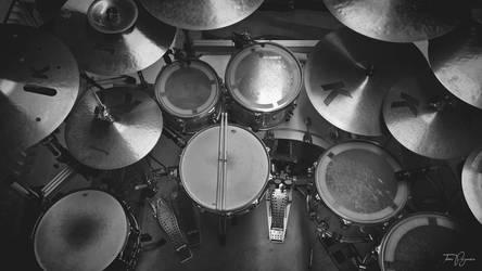 Drum Set by Pajunen