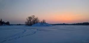 February Evening III by Pajunen