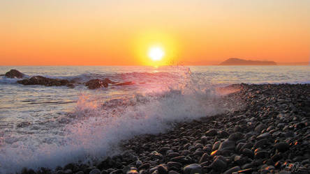 Mediterranean morning by Pajunen