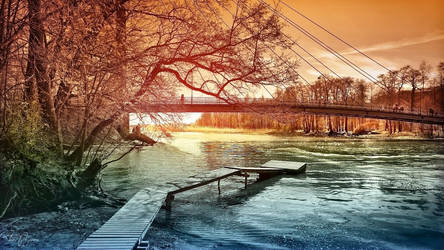 Matinkaari bridge by Pajunen