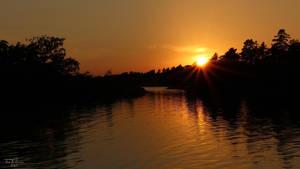 Golden Sunset II by Pajunen