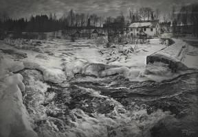 Riverside by Pajunen