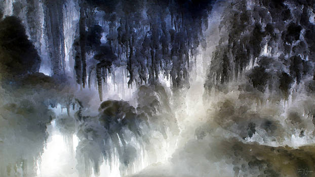Ice Gorge by Pajunen