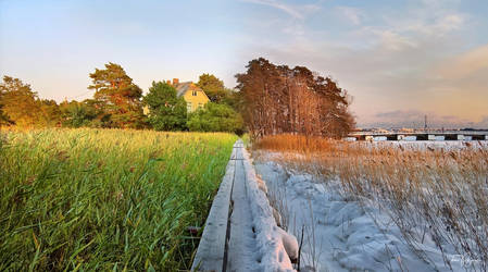 A seasonal panorama by Pajunen