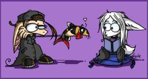 Clown Loach of Love 01 by psycrowe