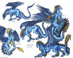 Draekard Evolution by psycrowe