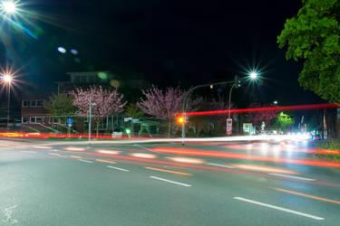 Nighttime Crossroad by Usagi-Atemu-Tom