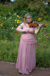 Feeling like a female violinist by Usagi-Atemu-Tom