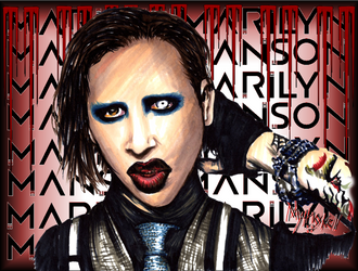 Marilyn Manson by Mythokell