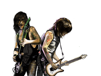 Jake and Jinxx ~ BVB by Mythokell