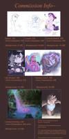 Commissions by AquaticSun