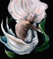Little Mermaid Portrait by kamarza
