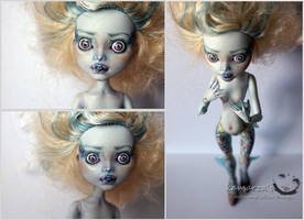 MH Lagoon OOAK Doll Repaint 2 by kamarza