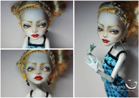Mabelle - MH doll Repaint by kamarza