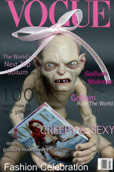 Gollum Vogue by kamarza