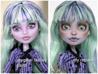 MH Twyla before and after by kamarza